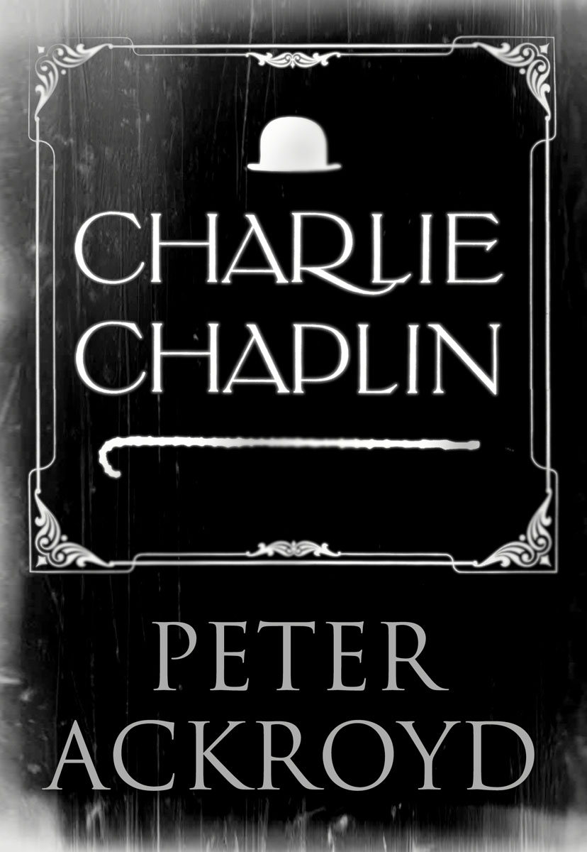 Charlie Chaplin faces faces first step