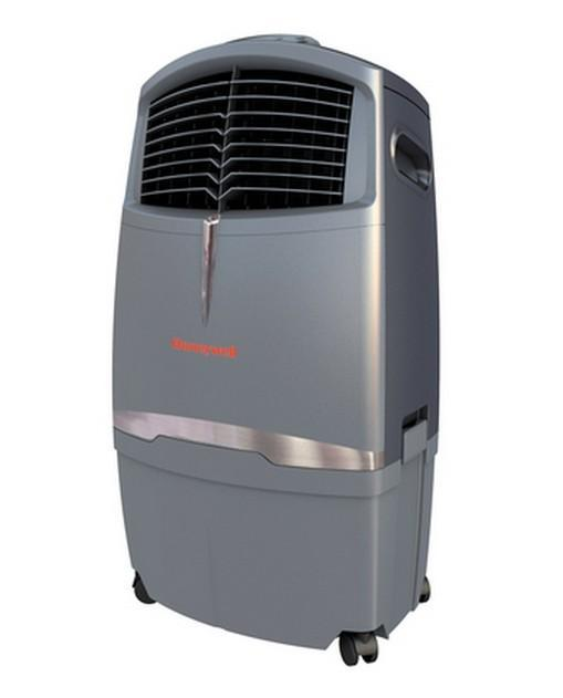 Honeywell CL30XC микроклиматическая установкаCL30XCHoneywell CL30XC - самая мощная модель из представленной линейки мобильных климатических установок. Она подходит для охлаждения и мойки воздуха в любых условиях помещений и на улице. Установка Honeywell CL30XC по итогам 2013г в США признана лучшим охладителем испарительного типа. Данная установка идеально подойдет для работы в жилом помещенииили офисе площадью до 350 м2. Эффективно увлажняет на площади до 150 м2. Работая наоткрытом пространстве, эта модель обдувает в радиусе 5-7 метров.