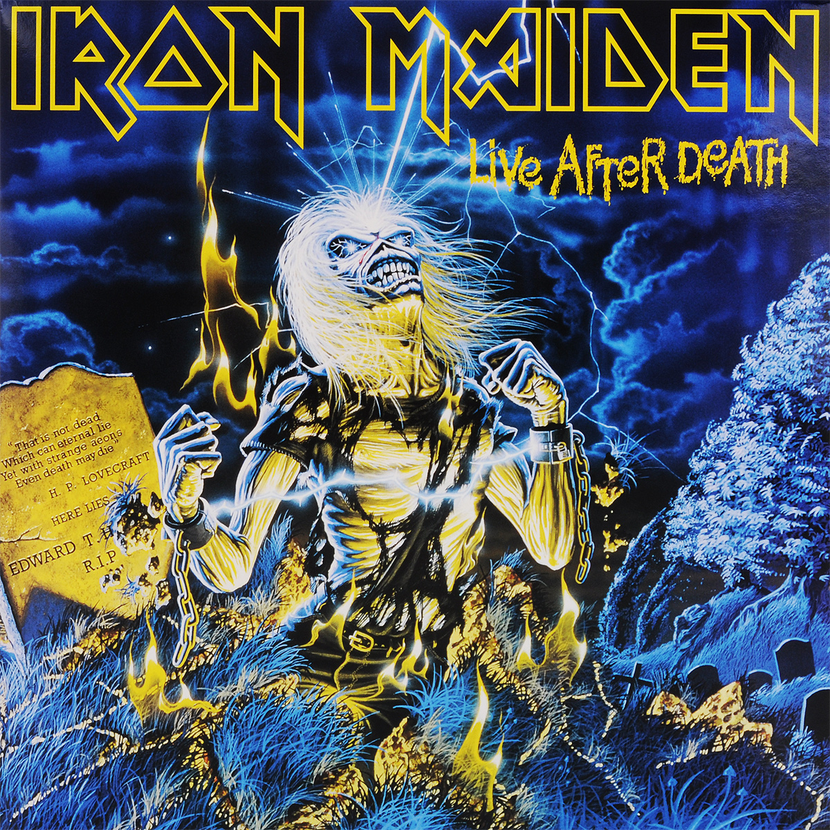 Iron Maiden Iron Maiden. Live After Death (2 LP) cd iron maiden death on the road live
