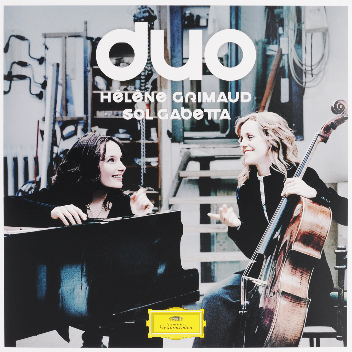 Элен Гримо,Сол Габетта Helene Grimaud / Sol Gabetta. Duo (2 LP) наушники накладные sol republic tracks hd tokidoki 1298 02