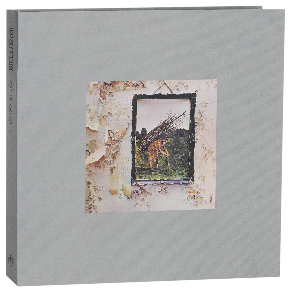 Led Zeppelin Led Zeppelin. IV. Super Deluxe Edition (2 LP + 2 CD) free delivery of high quality custom shop electric guitar black hardware ebony bound lp guitar wholesale and retail real phot