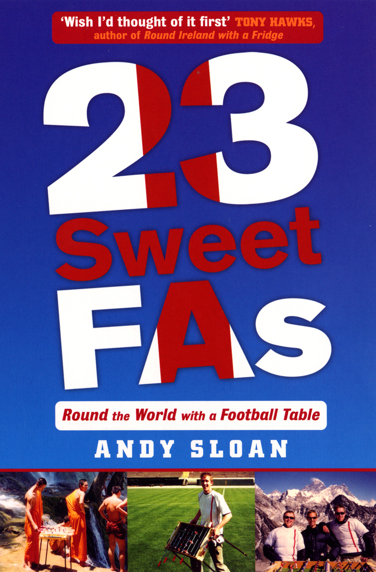 23 Sweet FAs: Round the World with a Football Table sweet sweet fox on the run