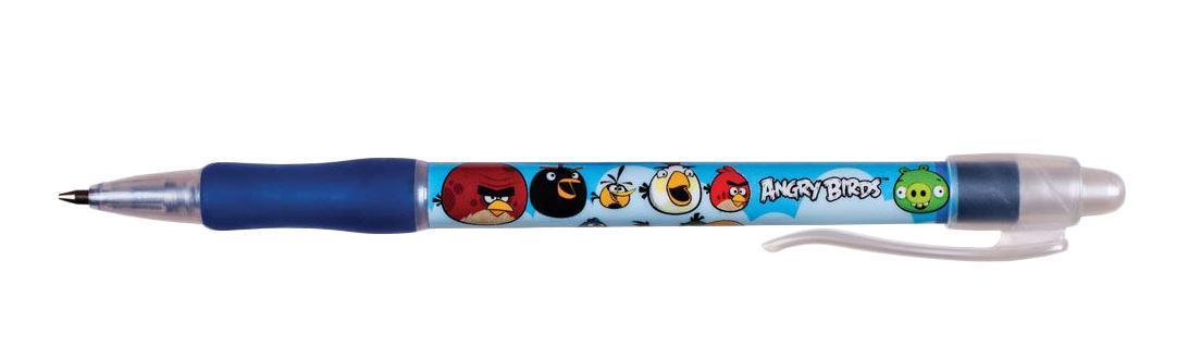 Centrum Набор шариковых ручек Аngry Birds цвет чернил синий 10 шт84401Автоматические шариковые ручки Centrum Аngry Birds станут незаменимыми атрибутами для учебы вашего ребенка. Корпус ручки выполнен из пластика и оформлен изображением птичек из игры Angry Birds. Ручка оснащена клип-зажимом. Подача стержня осуществляется путем нажатия на кнопку в верхней части ручки. В комплекте 10 ручек с чернилами синего цвета. Высококачественные чернила позволяют добиться идеальной плавности письма.