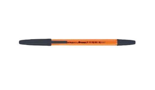 Ручка ORANGE черная Centrum, 0,7 мм 50 шт.80687