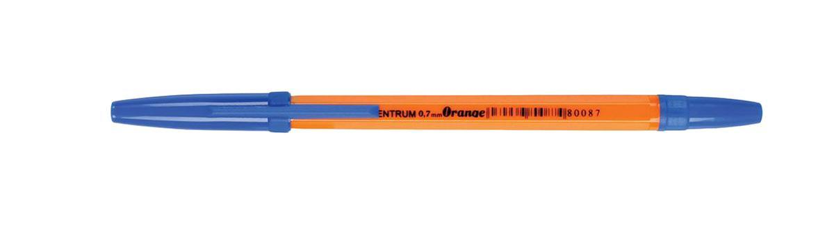 80087 Ручка ORANNGE синяя Centrum, 1,0 мм 50 шт80087