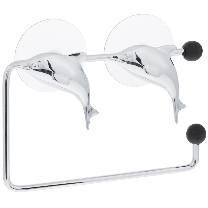 Держатель для туалетной бумаги Tatkraft Dolphin Silver11700