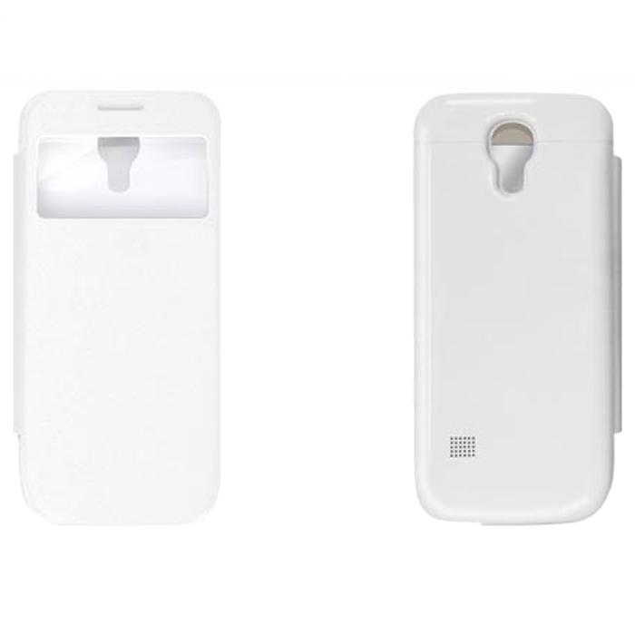 EXEQ HelpinG-SF04 чехол-аккумулятор для Samsung Galaxy S4 mini, White (2200 мАч, флип-кейс)HelpinG-SF04 WHExeq HelpinG-SF04 – элегантный аксессуар для Samsung Galaxy S4 Mini, идеально сочетающий в себе надежный чехол и дополнительный аккумулятор. Как чехол HelpinG-SF04 надежно защитит смартфон от загрязнений, царапин и ударов. Причем надежная защита будет обеспечена не только задней и боковым панелям телефона, но и дисплею - чехол оснащен специальной откидной крышкой Smart-cover, которая не только защитит дисплей, но и позволит регулировать работу экрана. Как внешний аккумулятор с емкостью в 2200 мАч HelpinG-SF04 способен увеличить время работы смартфона в два раза, обеспечив дополнительную подпитку батареи в самые необходимые моменты. При этом чехол-аккумулятор имеет настолько компактные размеры, что его подсоединение практически не повлияет на габариты самого смартфона. Конструкция чехла предусматривает удобный доступ ко всем элементам управления смартфона, камере, встроенному микрофону и динамику. Даже зарядку телефона можно осуществлять непосредственно через чехол, просто подсоединив зарядное устройство телефона к чехлу и нажав кнопку питания на чехле (если кнопку не нажимать, то будет происходить зарядка чехла). Аналогично происходит и подключение телефона к компьютеру – HelpinG-SF04 обеспечивает идеальную передачу данных между смартфоном и другими электронными устройствами.