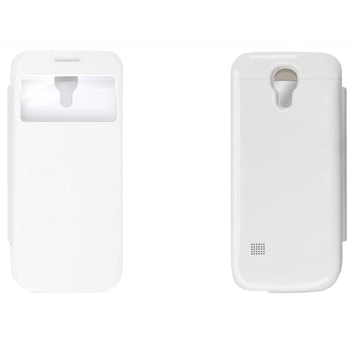 все цены на EXEQ HelpinG-SF04 чехол-аккумулятор для Samsung Galaxy S4 mini, White (2200 мАч, флип-кейс)