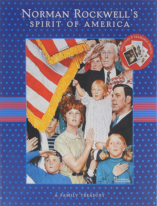 Norman Rockwell's Spirit of America: A Family Treasury norman vilalta мокасины