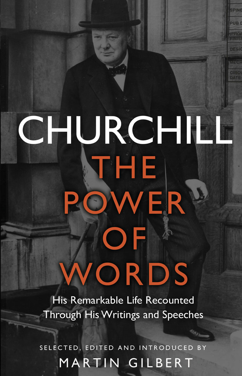 Churchill: The Power of Words pink in her own words