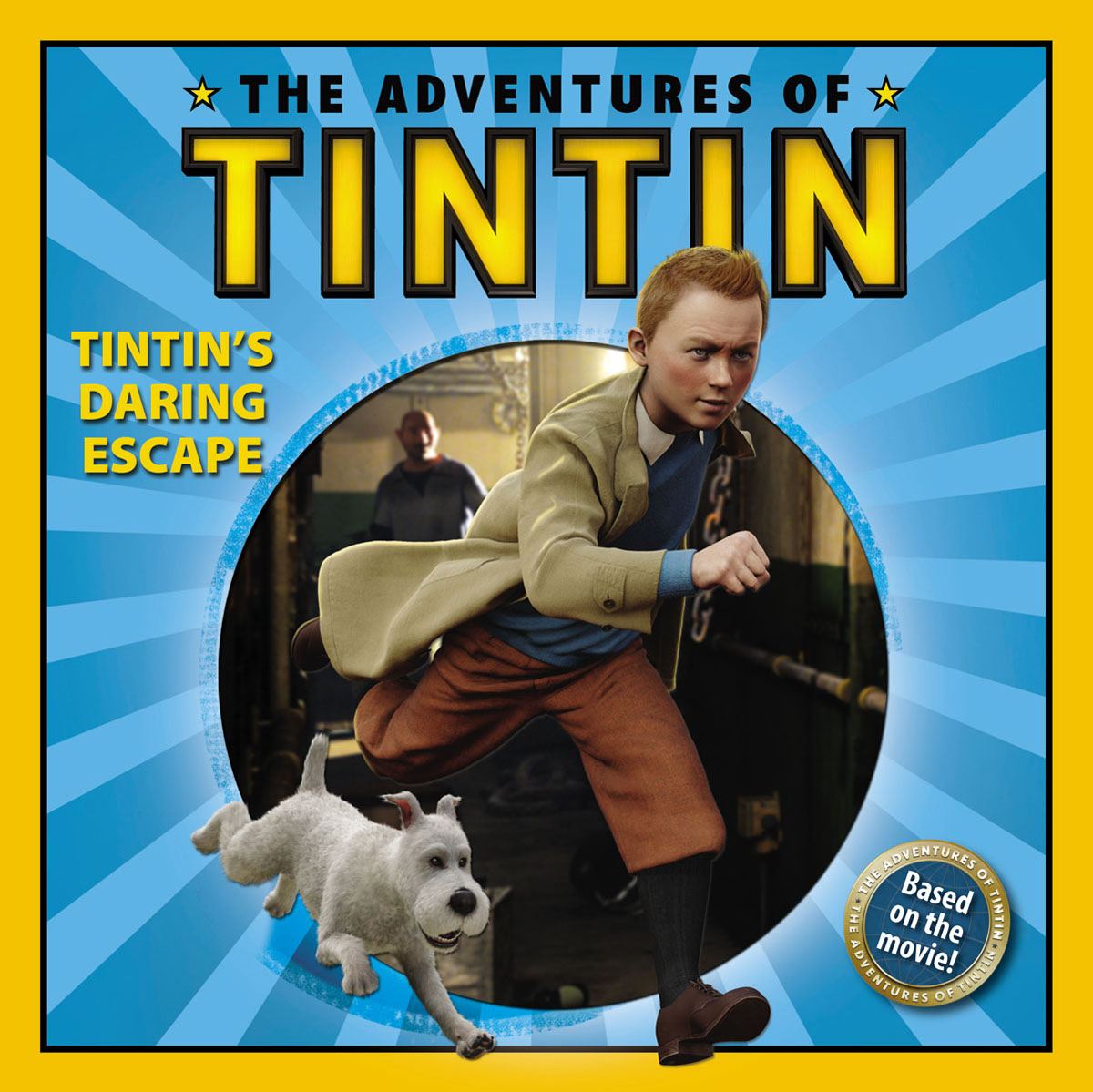 The Adventures of Tintin: Tintin's Daring Escape dickens c a message from the sea