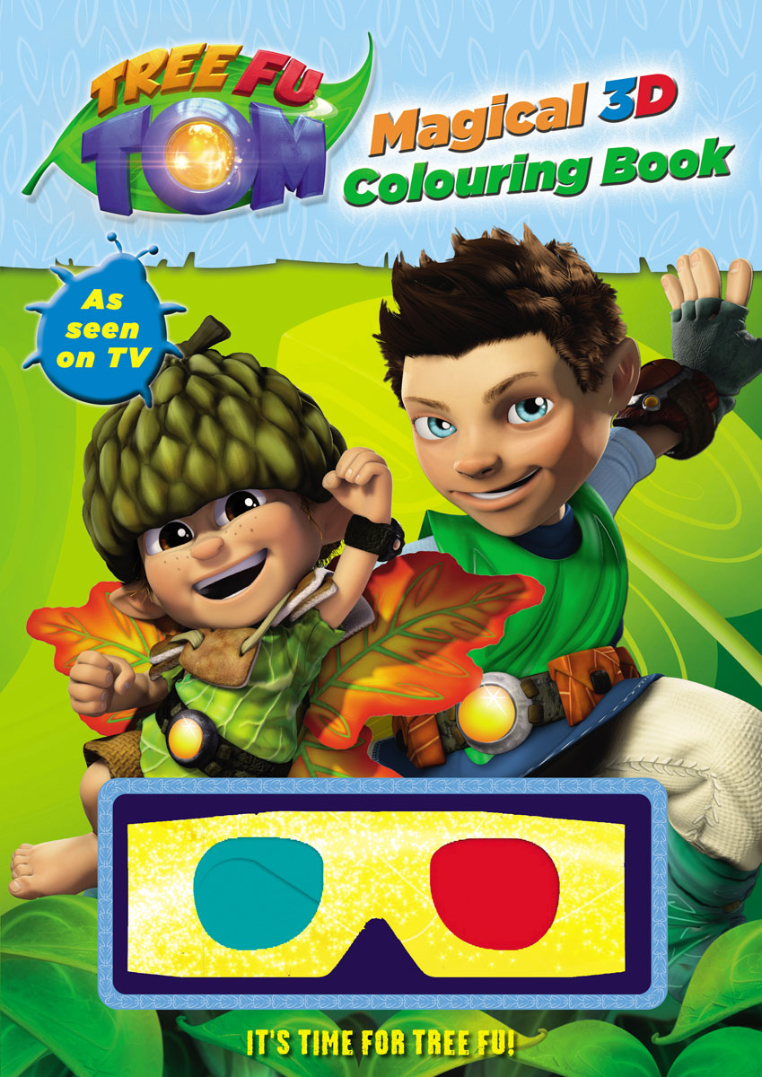 Tree Fu Tom: Magical 3D Colouring Book ingri d aulaire d aulaires book of trolls