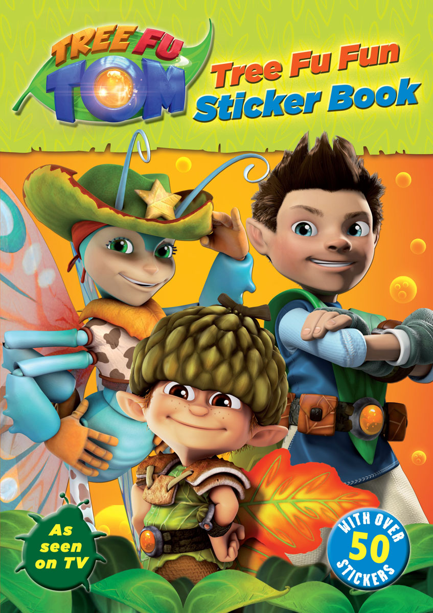 Tree Fu Tom: Tree Fu Fun Sticker Book fun some nights