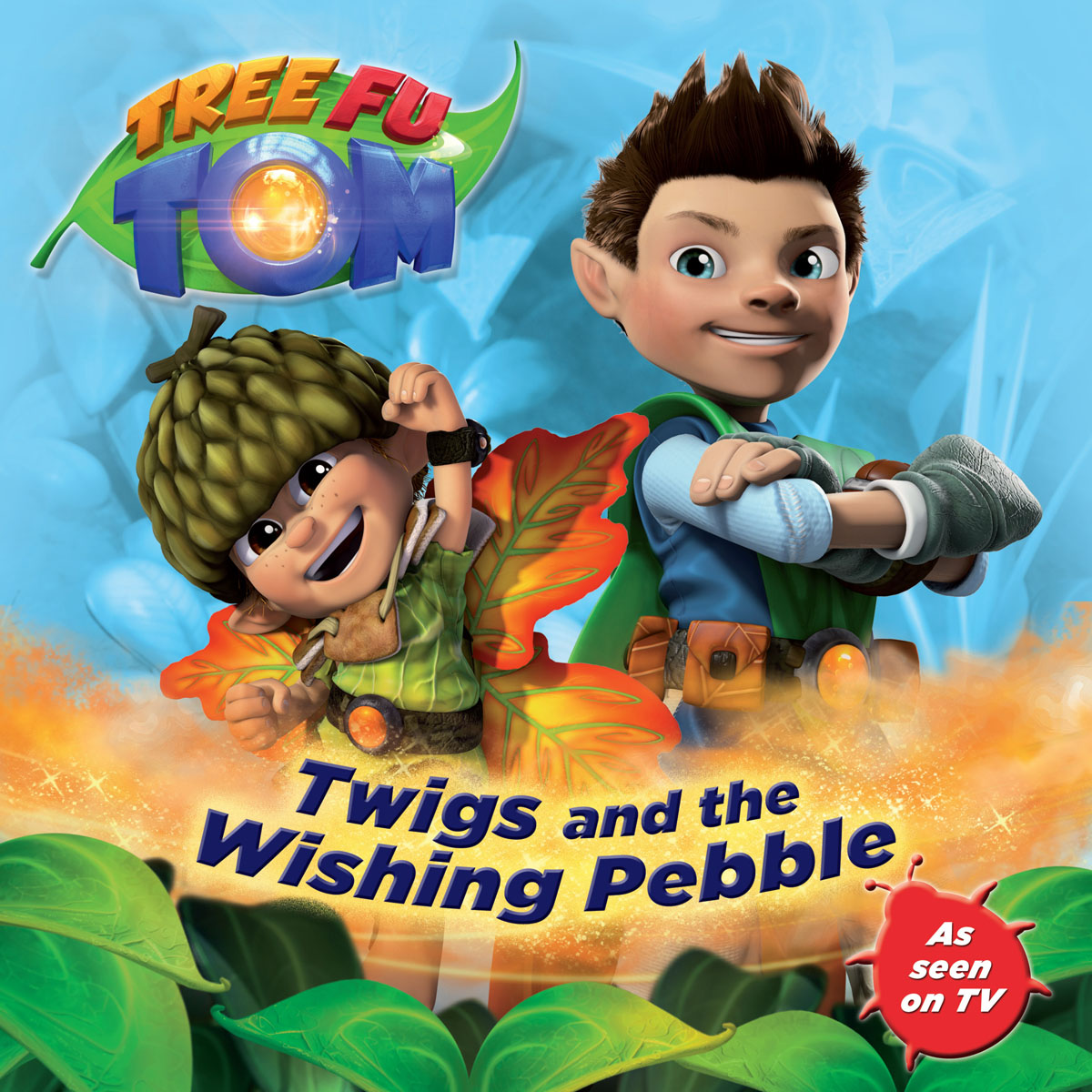 Tree Fu Tom: Twigs and the Wishing Pebble wish for a fish