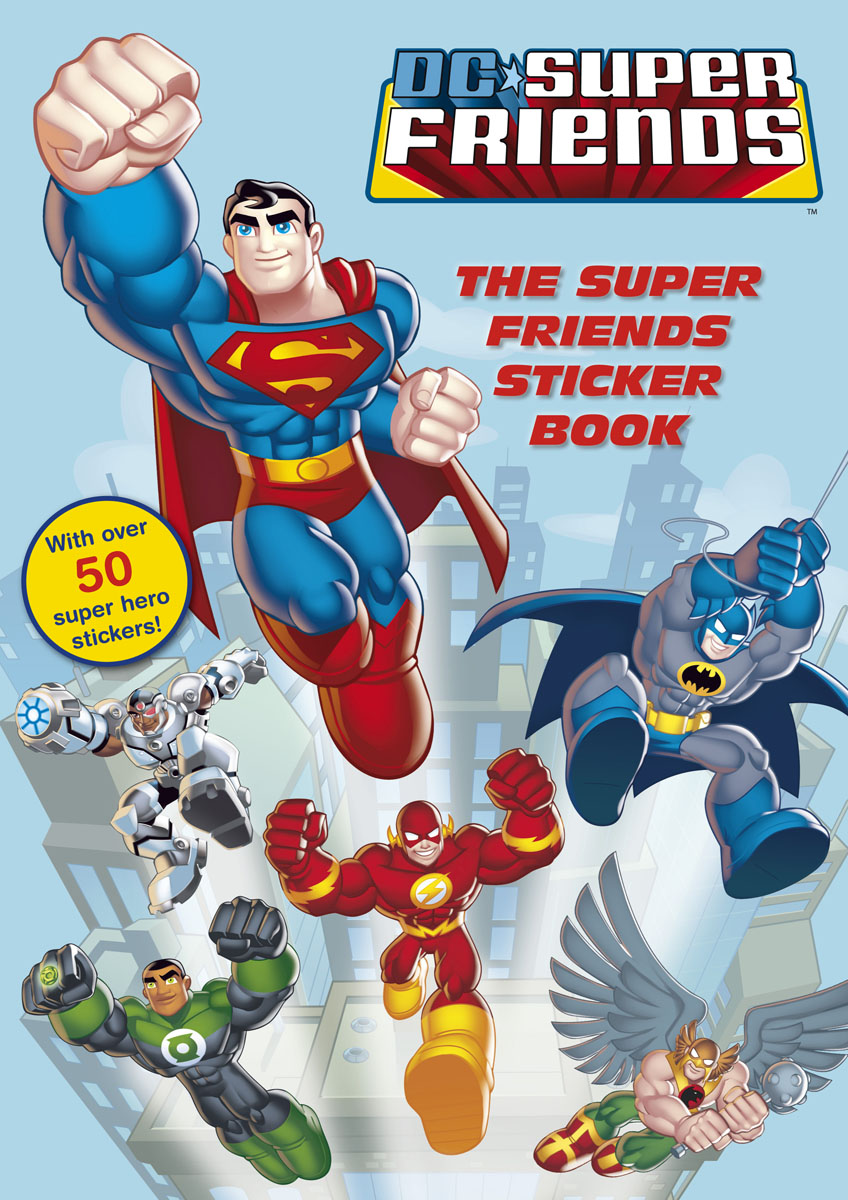 DC Super Friends: The Super Friends Sticker Book пижама chicco chicco ch001ebatax7