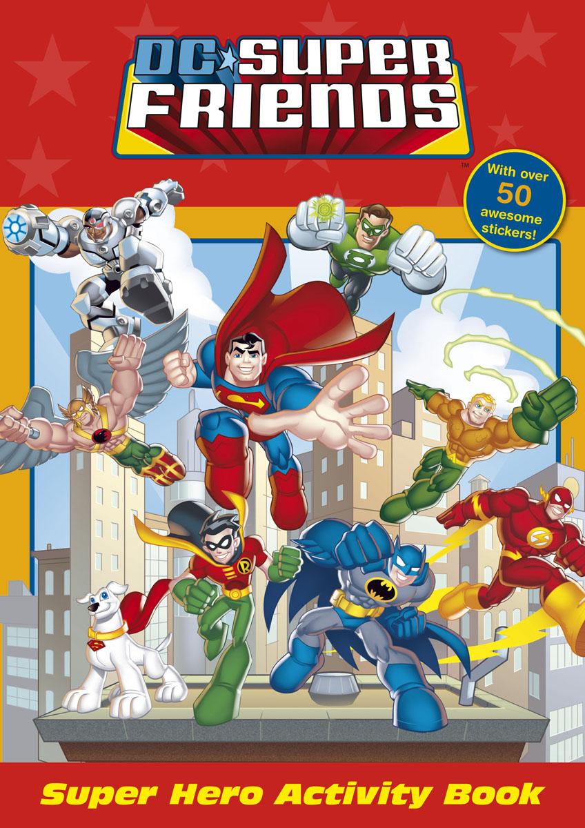 DC Super Friends: Super Hero Activity Book bantam books dc super friends the super friends sticker book