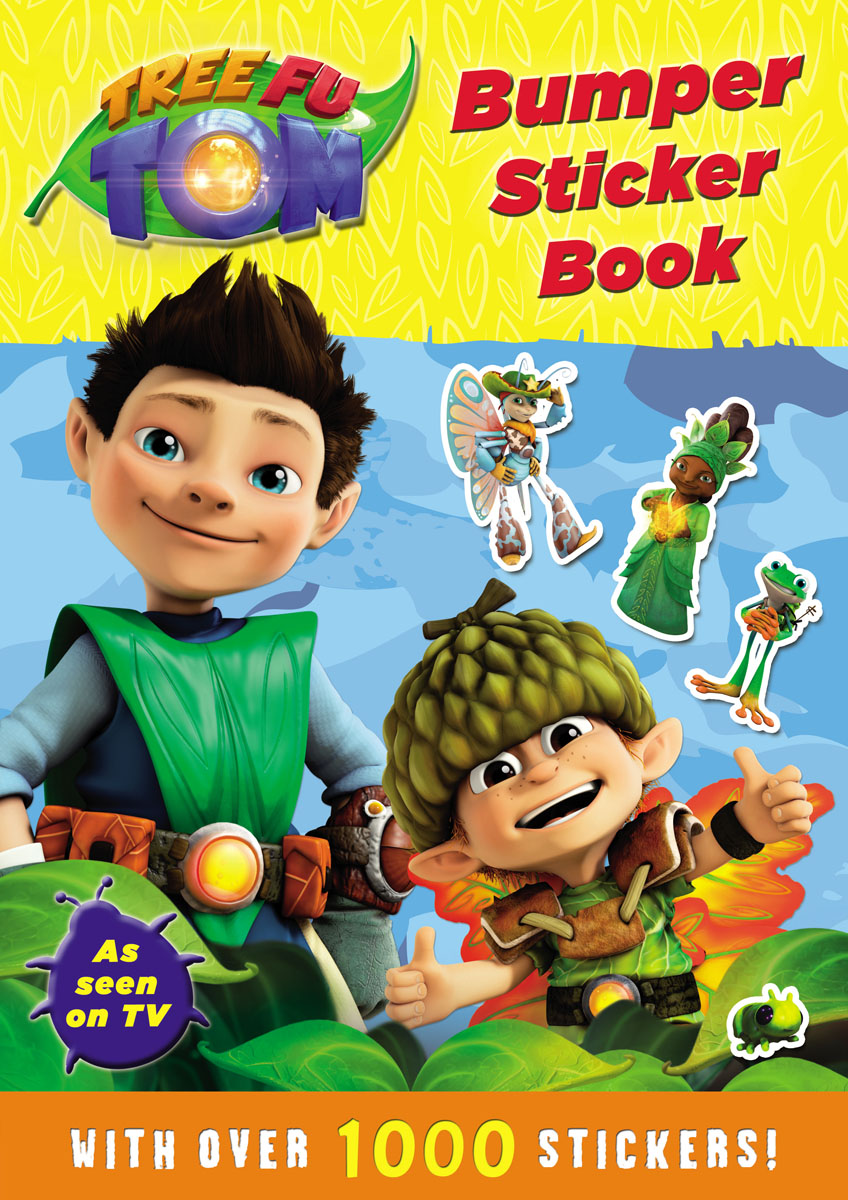 Tree Fu Tom: Bumper Sticker Book new original fu 77g