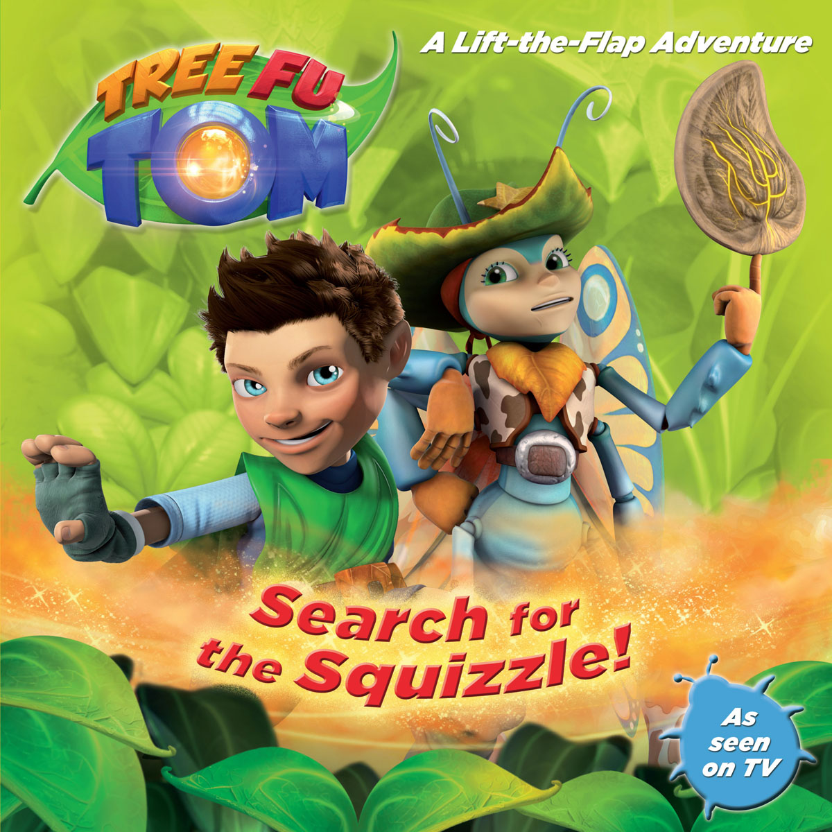Купить Tree Fu Tom: Search for the Squizzle!,