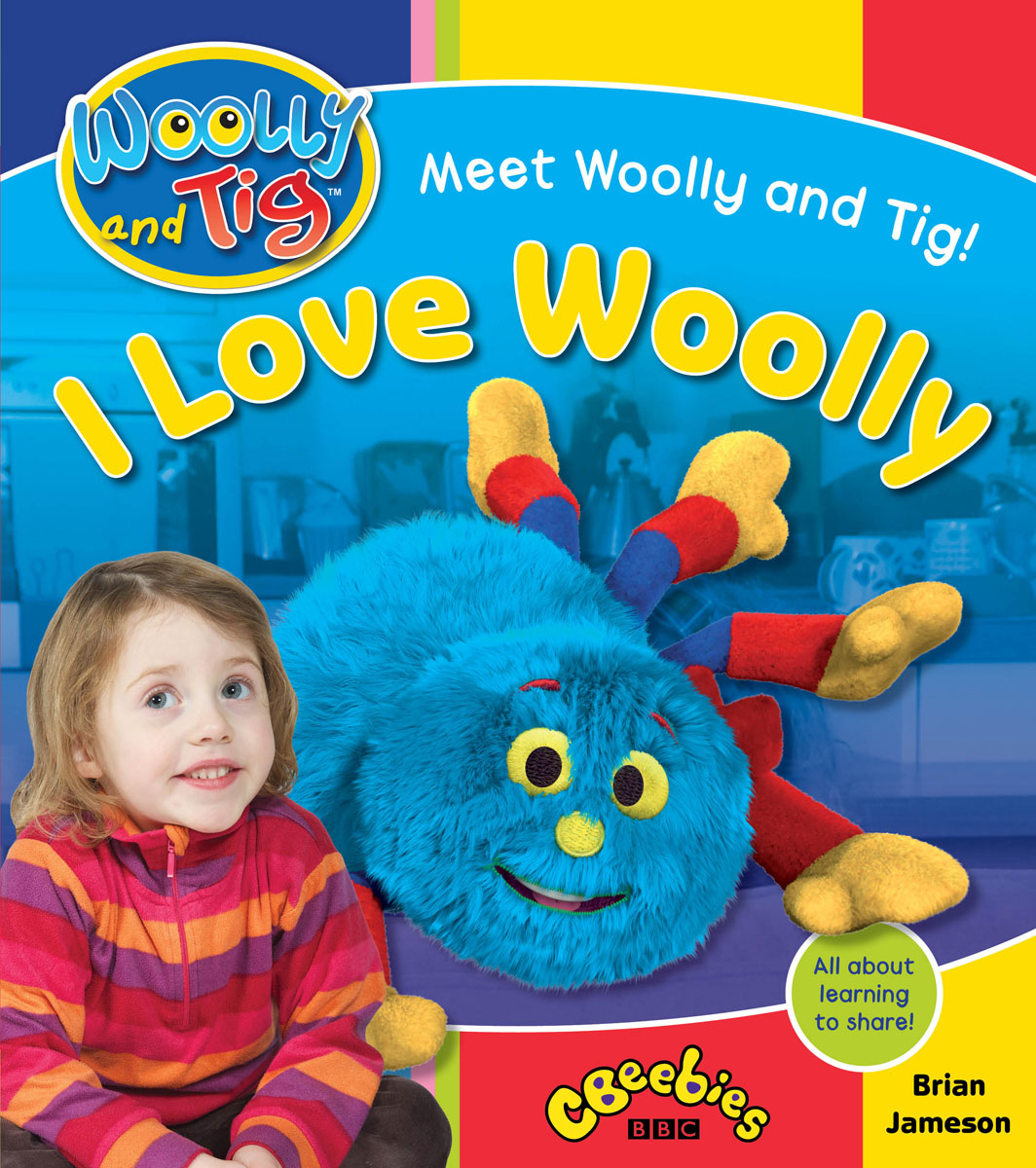 Woolly and Tig: I Love Woolly woolly boolly шарф