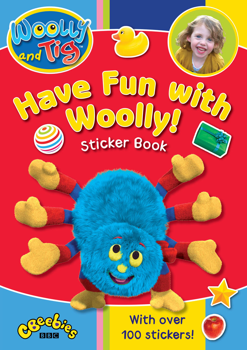 Woolly and Tig: Have Fun with Woolly Sticker Book бюстгальтер patti tender голубой 80c ru