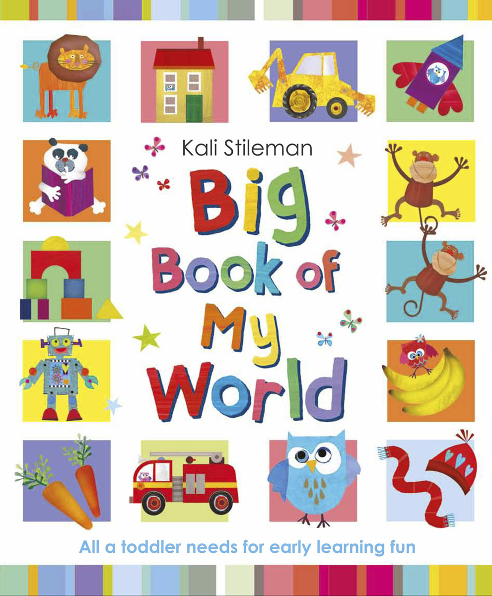 Big Book of My World my first book of vehicles