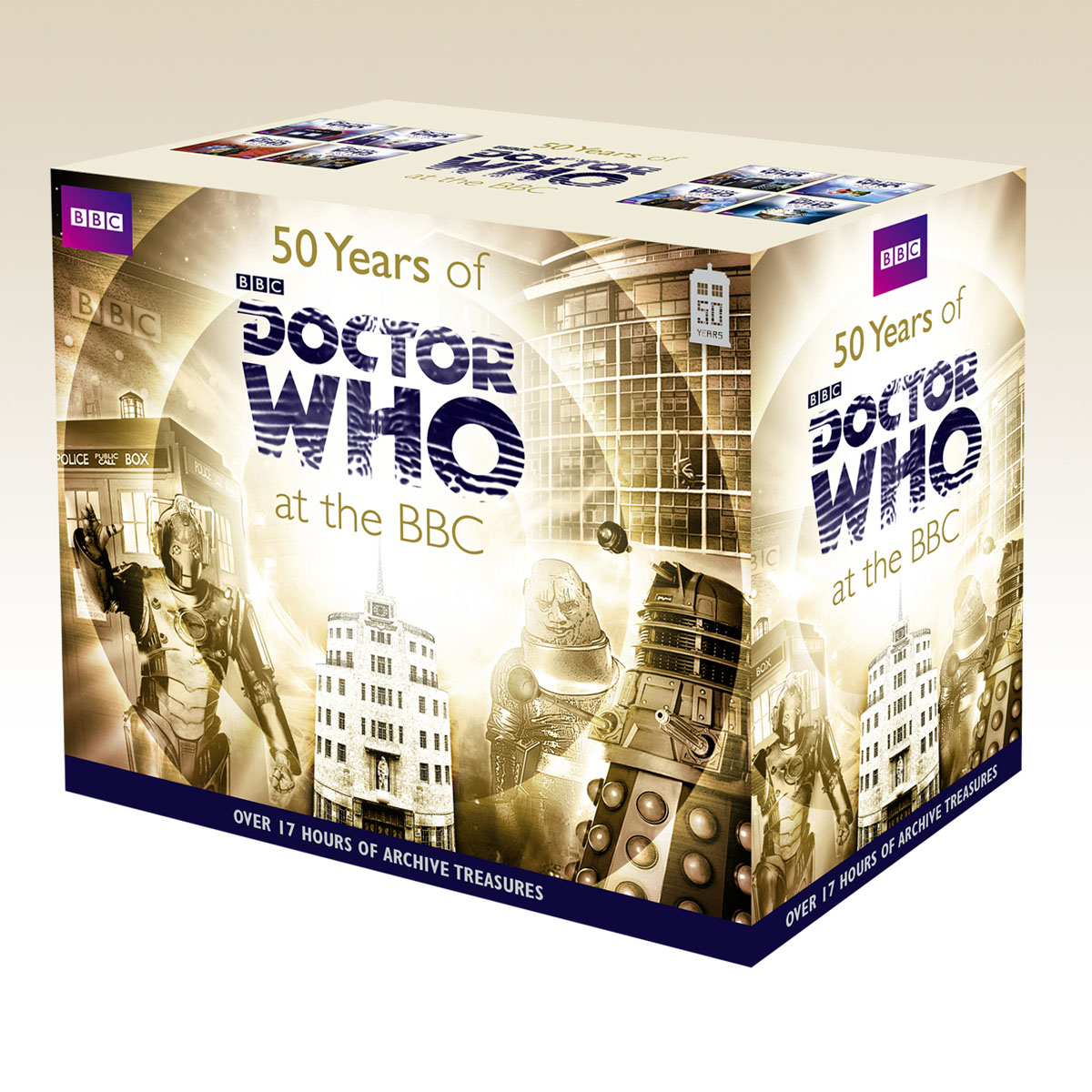 Fifty Years Of Doctor Who At The Bbc (Box Set) magrs paul doctor who hornets nest 5 hive of horror