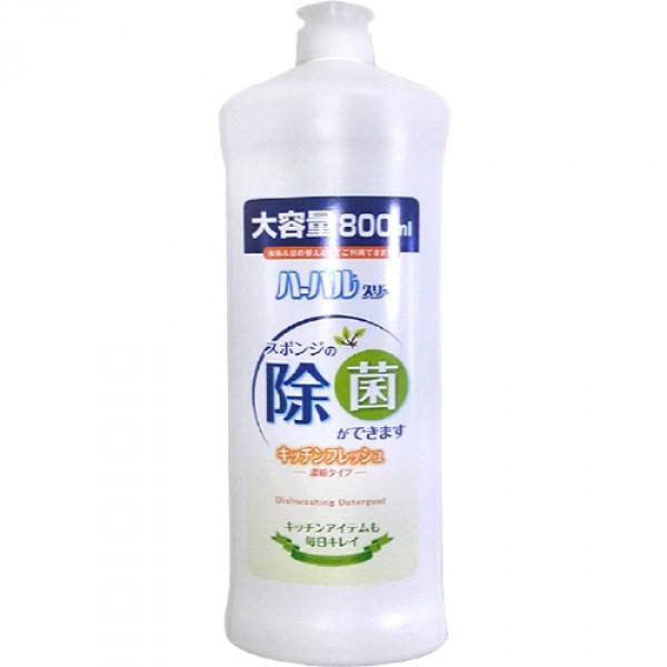 Средство для мытья посуды Mitsuei, концентрированное, с экстрактом бамбука, 800 мл бытовая химия mama lemon концентрированное средство для мытья посуды зеленый чай 1 л