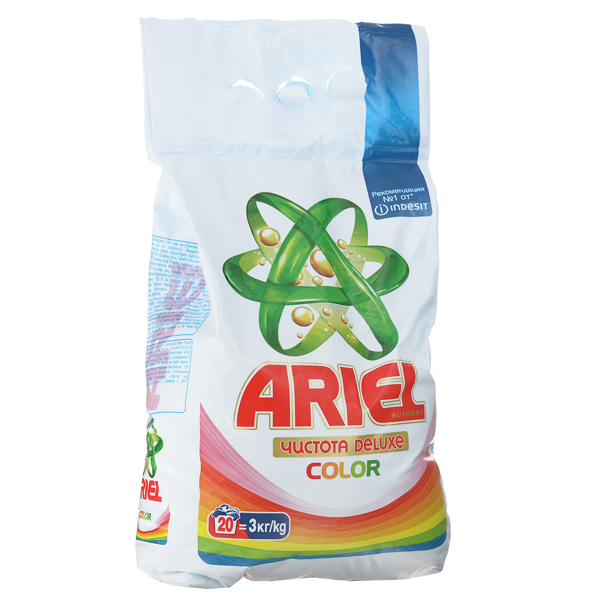 Порошок стиральный Ariel Color, для цветных вещей, автомат, 3 кг стиральный порошок для ручной стирки пемос 350 г