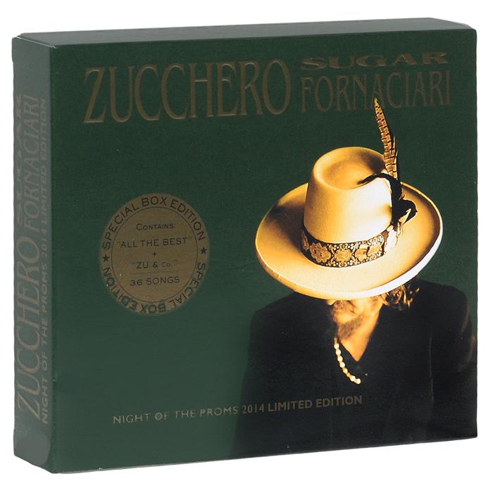 Зуккеро Zucchero. Sugar Fornaciari. Night Of The Proms 2014. Limited Edition (2 CD) night of the proms antwerpen