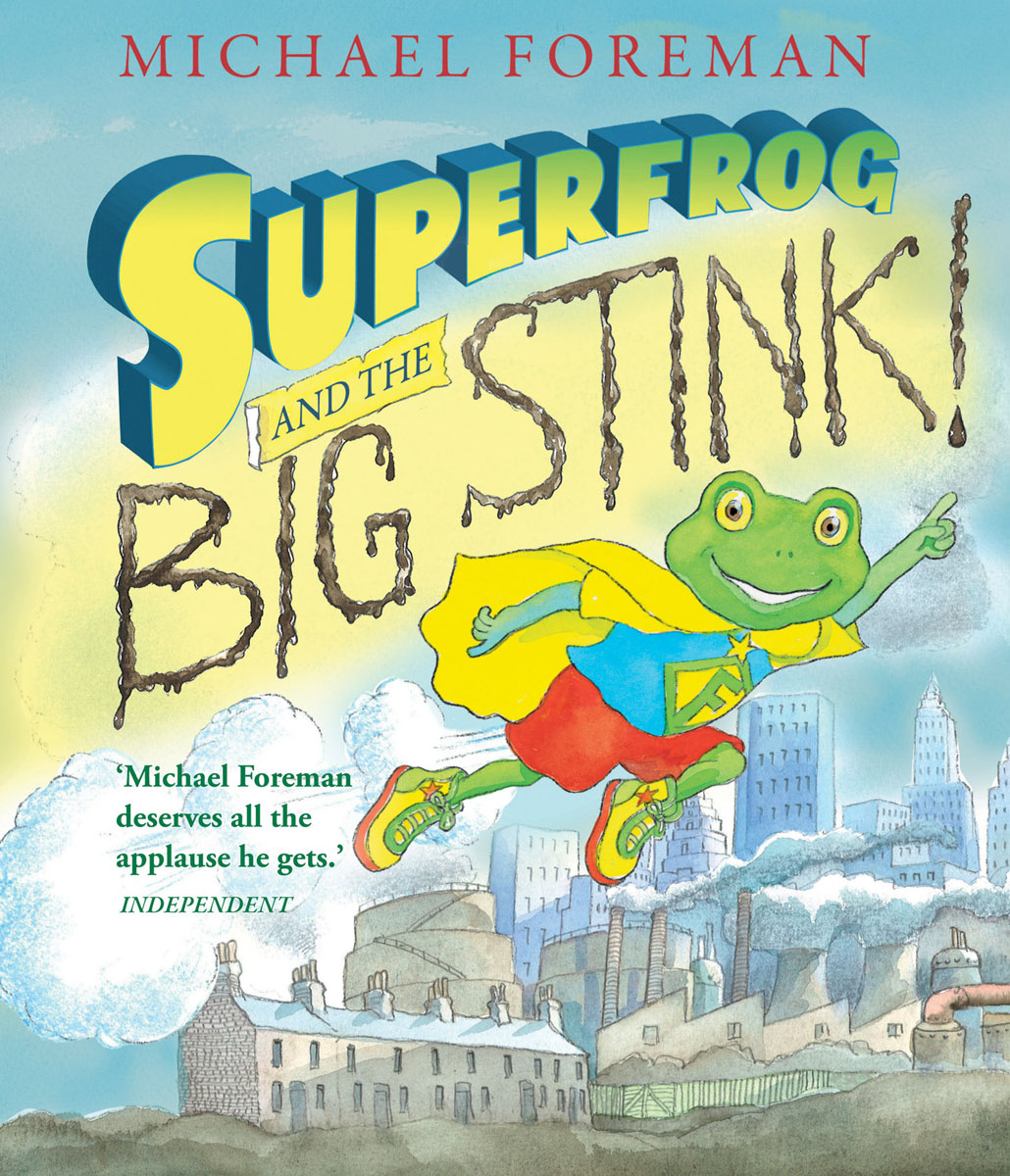 Купить Superfrog and the Big Stink,