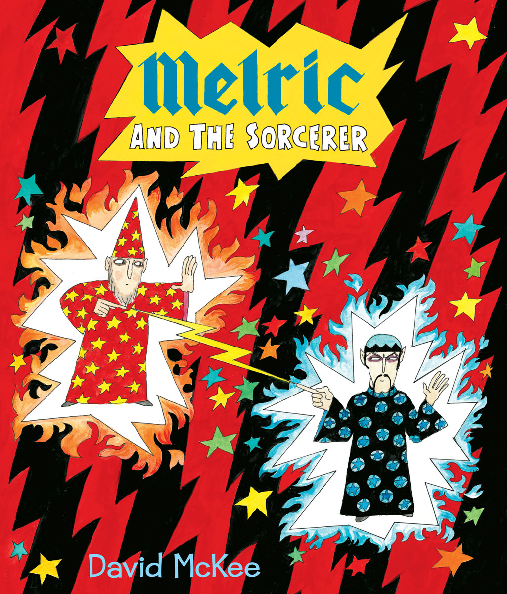 Melric and the Sorcerer sorcerer to the crown