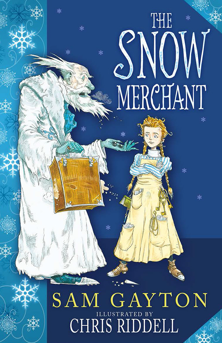 The Snow Merchant chris wormell george and the dragon