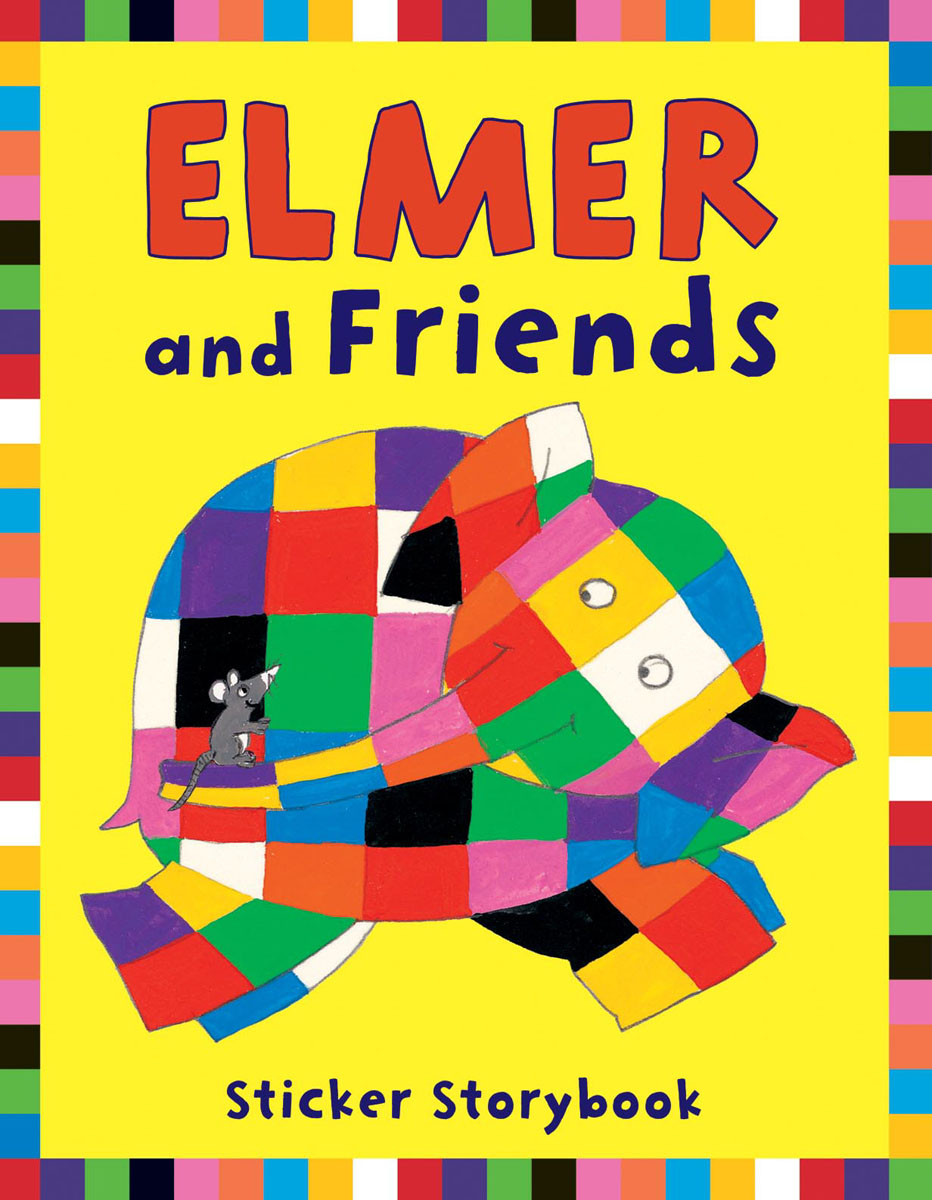 Elmer and Friends Sticker Storybook ]the best way to walk the chic murray story andrew