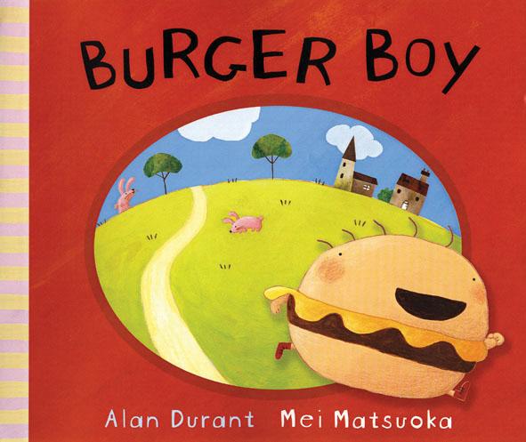 Burger Boy like bug juice on a burger