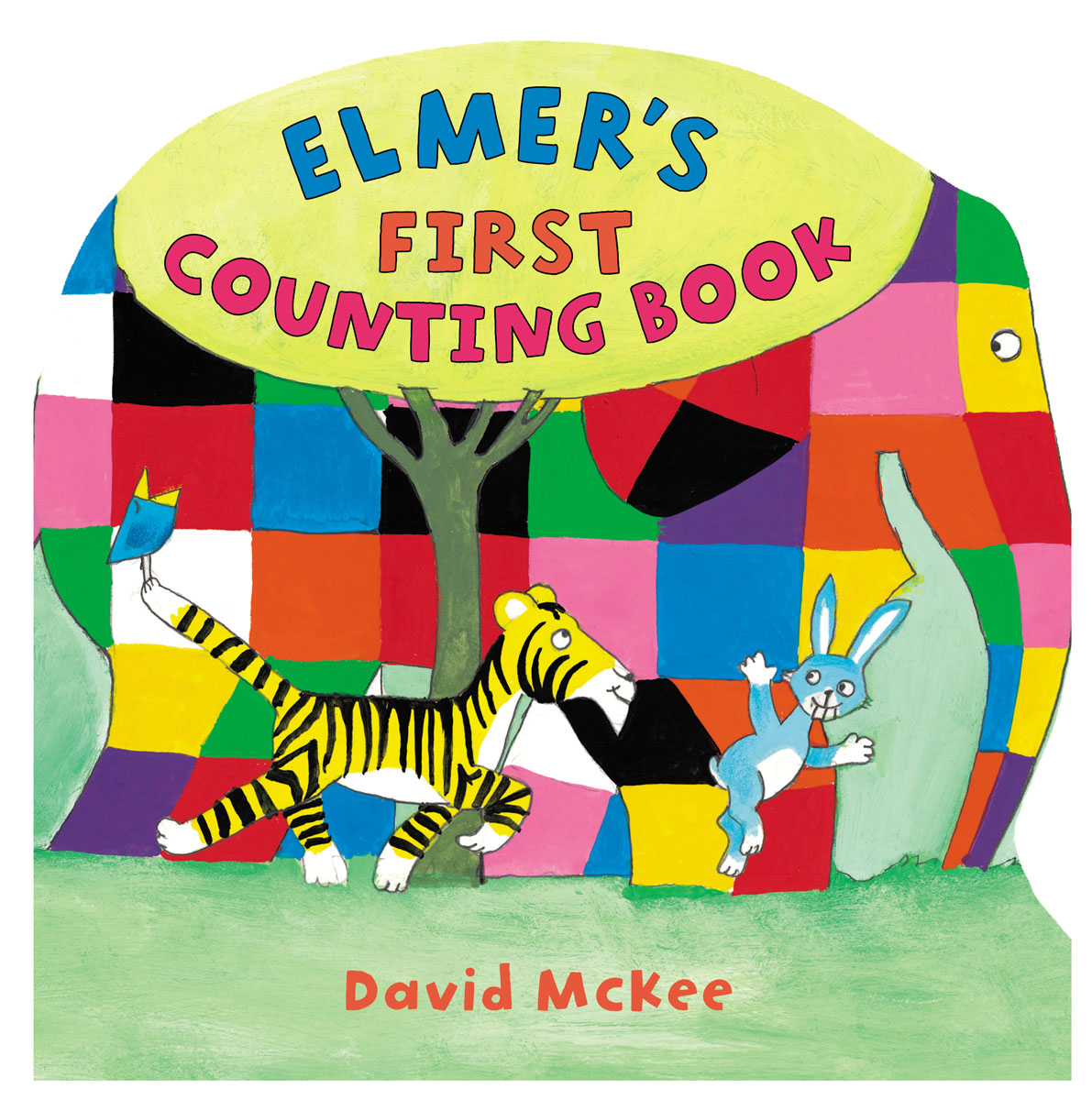 Elmer's First Counting Book elmer and super el
