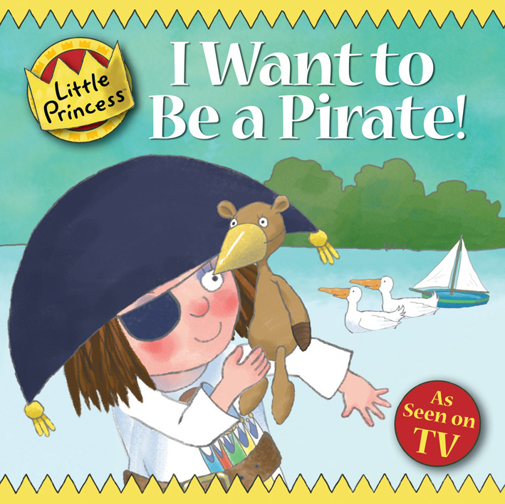 I Want to Be a Pirate! little princess