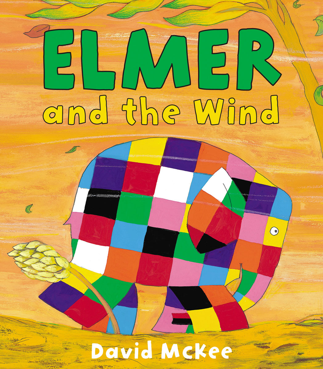Elmer and the Wind elmer in the snow