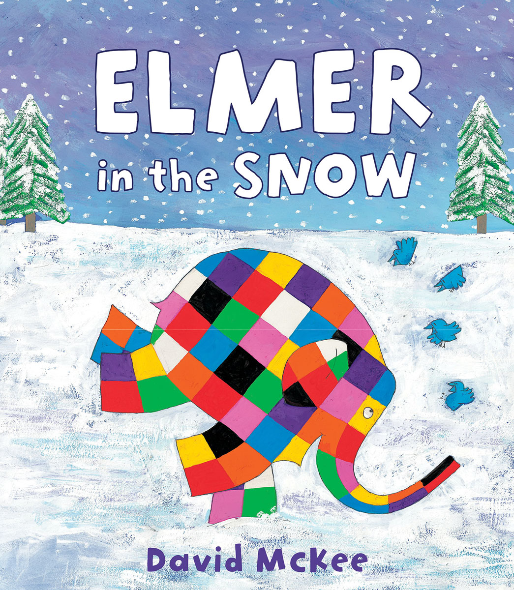 Elmer in the Snow elmer in the snow