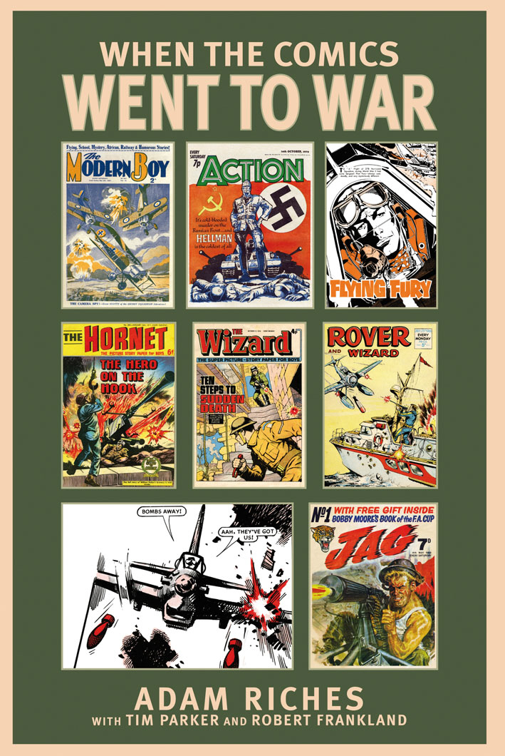 When the Comics Went to War when the comics went to war
