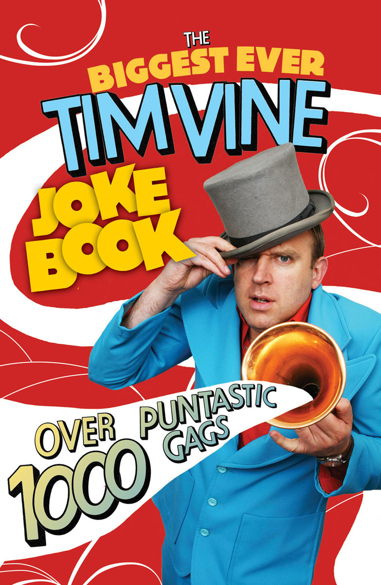 The Biggest Ever Tim Vine Joke Book the funniest christmas joke book ever