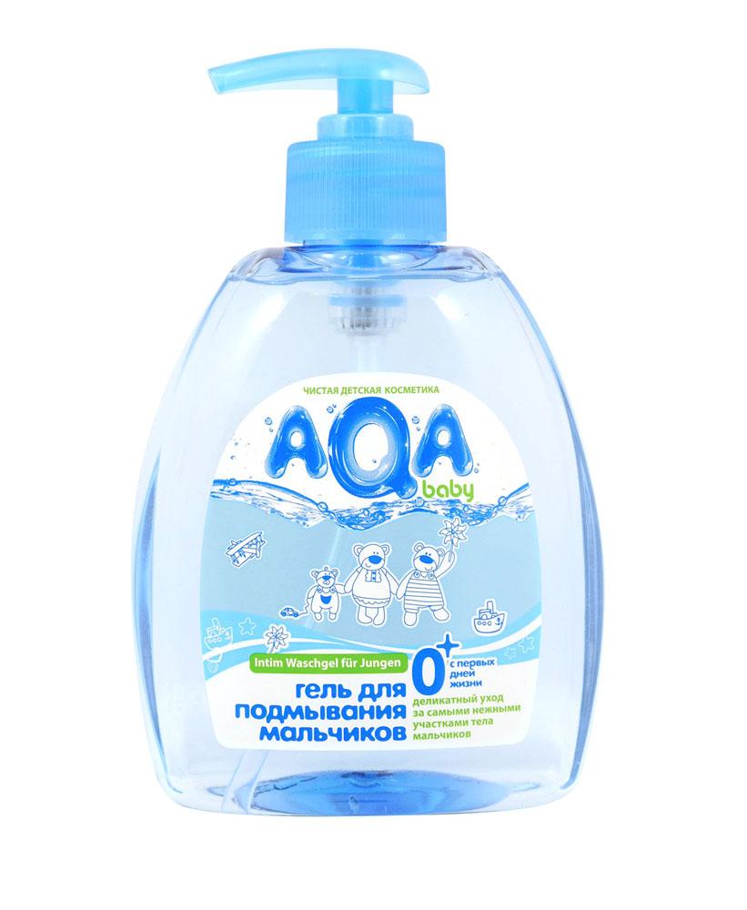 AQA baby Гель для подмывания мальчиков, с первых дней жизни, 300 мл009421Гель специально разработан для ежедневного подмывания мальчиков с первых дней жизни. Мягкие компоненты деликатно очищают нежную кожу интимной зоны. Бисаболол и аллантоин обладают выраженным противовоспалительным и успокаивающим действием. Не содержит SLES, SLS, парабенов, феноксиэтанола, формальдегида, продуктов нефтепереработки. Гипоаллергенно. Без красителей. Используется с рождения.Гель для подмывания подходит для мальчиков, перенесших процедуру обрезания.Товар сертифицирован.