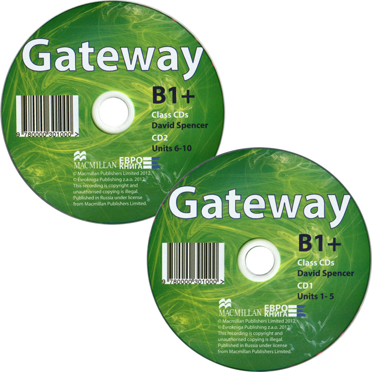 Gateway B1+: Class CDs (аудиокурс на 2 CD) cosmic level b1 class cds аудиокурс на 2 cd