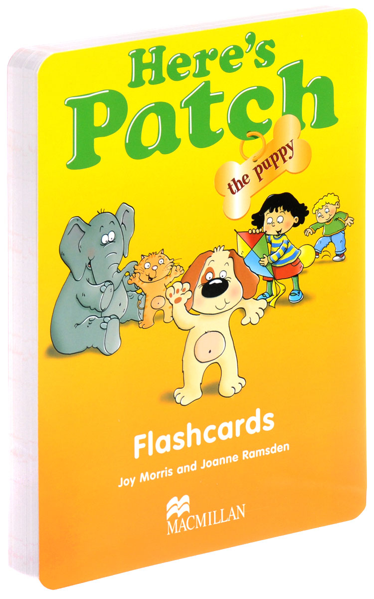 Here's Patch the Puppy: Flashcards (набор из 166 карточек) 123 flashcards