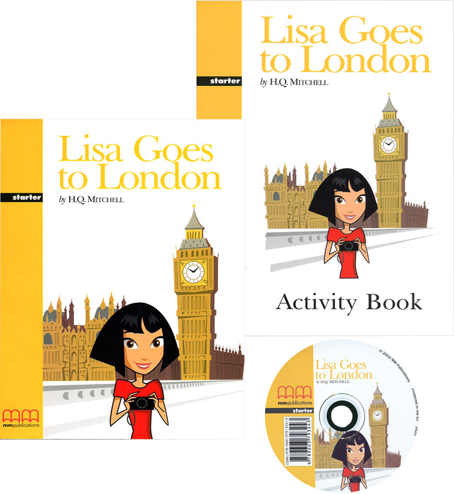 Graded Readers: Starter: Lisa Goes to London (комплект из 2 книг + CD) jonathan london froggy goes to bed