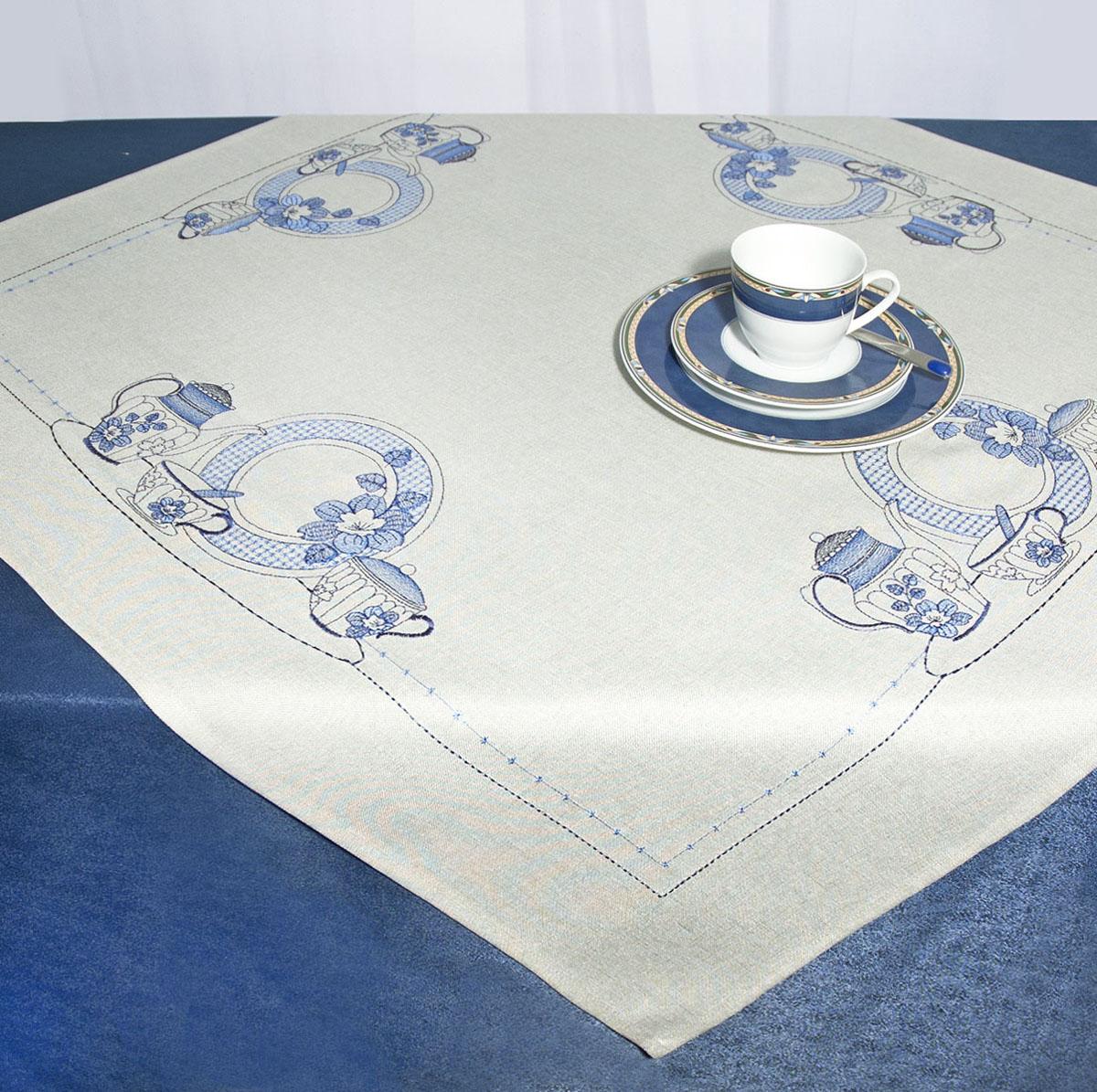 Скатерть Schaefer, квадратная, цвет: серый, 85x 85 см. 07480-10007480-100Скатерть Schaefer изготовлена из полиэстера и украшена вышивкой в виде чайников, тарелок и др.Изделия из полиэстера легко стирать: они не мнутся, не садятся и быстро сохнут, они более долговечны, чем изделия из натуральных волокон. Кроме того, ткань обладает водоотталкивающими свойствами. Такая скатерть будет просто не заменима на кухне, а особенно на вашем обеденном столе на даче под открытым небом. Скатерть Schaefer не останется без внимания ваших гостей, а вас будет ежедневно радовать ярким дизайном и несравненным качеством.Немецкая компания Schaefer создана в 1921 году. На протяжении всего времени существования она создает уникальные коллекции домашнего текстиля для гостиных, спален, кухонь и ванных комнат. Дизайнерские идеи немецких художников компании Schaefer воплощаются в текстильных изделиях, которые сделают ваш дом красивее и уютнее и не останутся незамеченными вашими гостями. Дарите себе и близким красоту каждый день! Изысканный текстиль от немецкой компании Schaefer - это красота, стиль и уют в вашем доме.