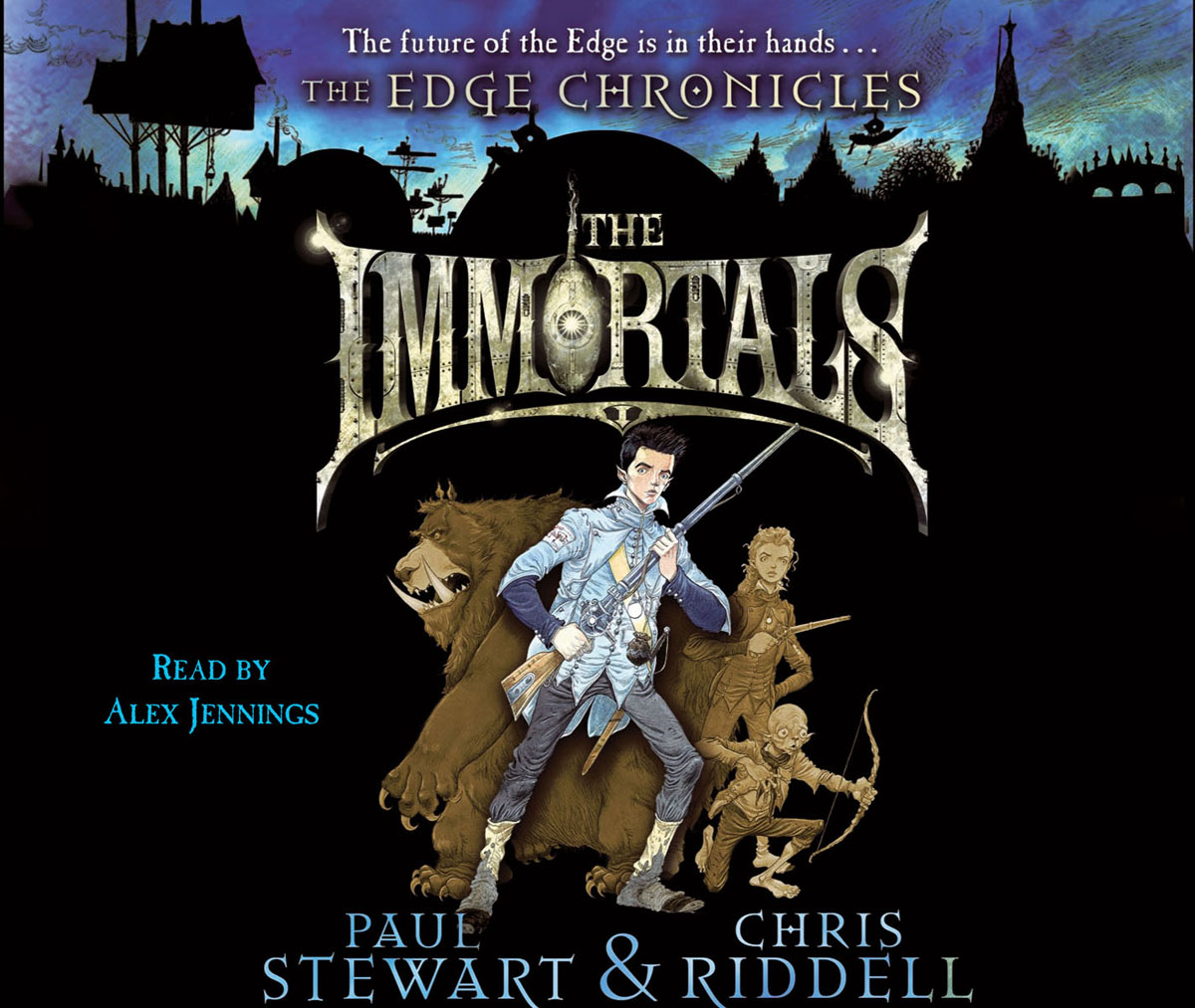 The Edge Chronicles 10: The Immortals the immortals dark flame
