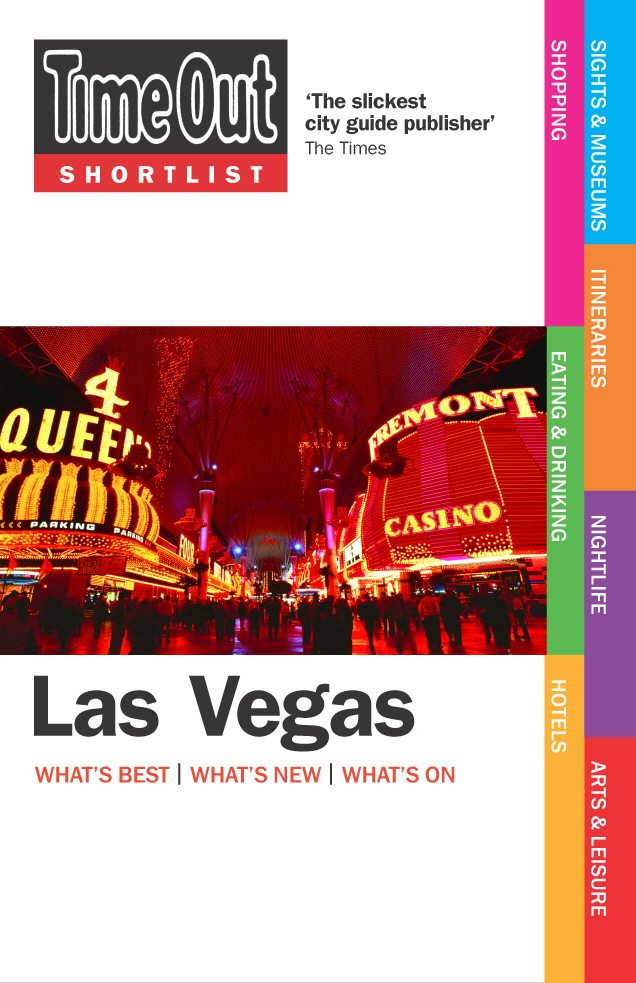 Time Out Shortlist Las Vegas - 1st Edition time out rome 8th edition