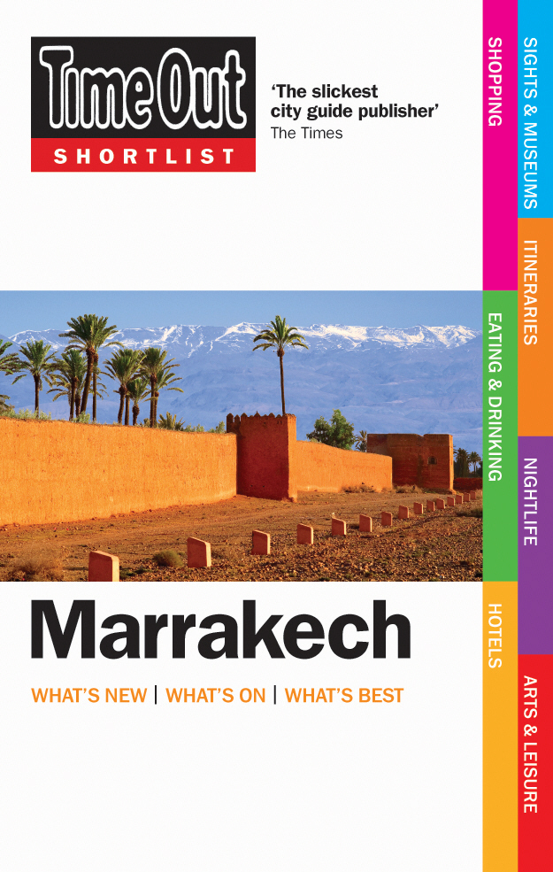 Time Out Shortlist Marrakech - 1st edition time out amsterdam 10th edition