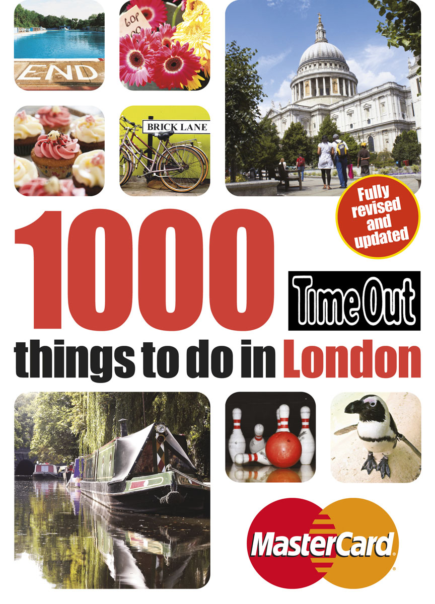 Time Out 1000 things to do in London 3rd edition once in a lifetime
