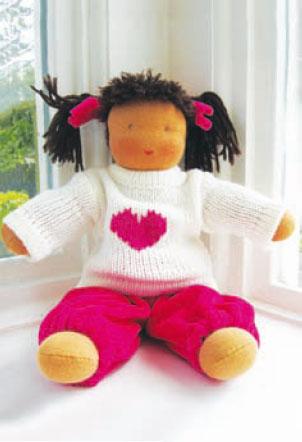 Набор для изготовления вальдорфской куклы De Witte Angel  Мириам , высота 30 см - Игрушки своими руками